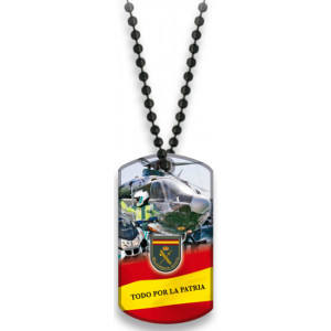 Chapa Dog Tag Guardia Civil