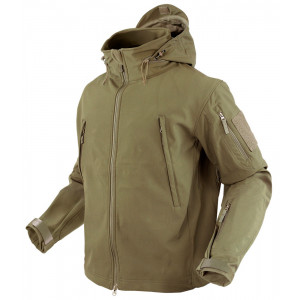 Chaqueta CONDOR Summit Softshell coyote