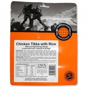 Pollo Tikka con arroz 800 kcal de Expedition Foods