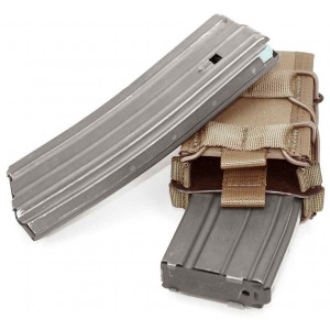 Doble funda portacargador de rifle WARRIOR ASSAULT coyote