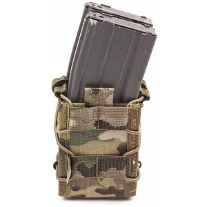 Doble funda portacargador de rifle WARRIOR ASSAULT MultiCam