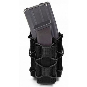 Doble funda portacargador de rifle y pistola WARRIOR ASSAULT negro