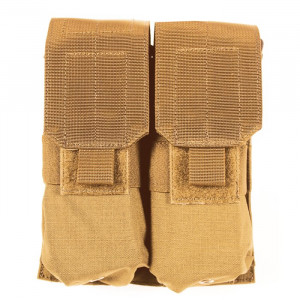 Doble funda portacargador M4/M16 BLACKHAWK con Speed Clips - coyote
