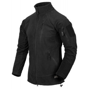 Forro polar HELIKON-TEX Alpha Tactical negro