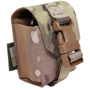 Funda porta granada WARRIOR ASSAULT Laser Cut MultiCam