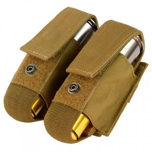 Funda porta granadas doble CONDOR 40mm Coyote