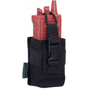 Funda porta radio WARRIOR ASSAULT negra