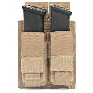 Funda portacargador doble de pistola WARRIOR ASSAULT Coyote