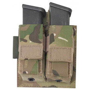 Funda portacargador doble de pistola WARRIOR ASSAULT MultiCam
