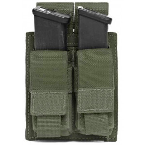 Funda portacargador doble de pistola WARRIOR ASSAULT Verde
