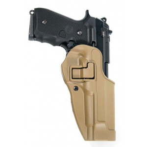 Funda BLACKHAWK Serpa CQC Nivel 2 Beretta 92 Coyote