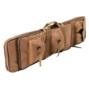 Funda para rifle DELTA TACTICS multibolsillos 100 cm coyote