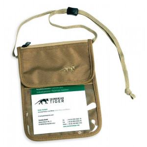 Porta documentos TASMANIAN TIGER Neck Pouch coyote