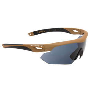 Gafas SWISS EYE NightHawk 3 lentes con montura coyote