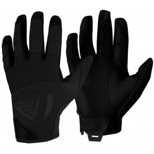 Guantes de cuero DIRECT ACTION Hard negros