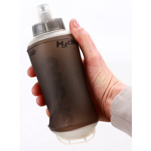 Botella plegable HYDRAPAK SoftFlask Smoke 500ml
