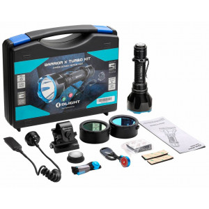 Kit de Caza Linterna OLIGHT Warrior X Turbo 1100 lúmenes