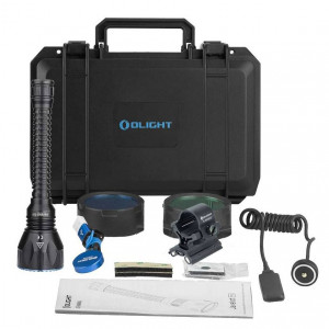 Kit de Caza Linterna OLIGHT Javelot Turbo 1300 lumens