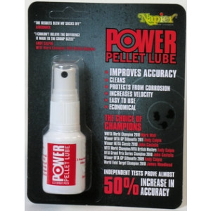 Lubricante para balines en spray NAPIER Power Pellet Lube