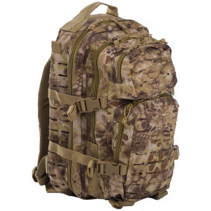 Mochila MILTEC US ASSAULT SM 20 Litros Laser Cut Kryptek Highlander