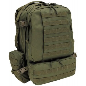 Mochila MFH 3-Day Tactical-Modular verde