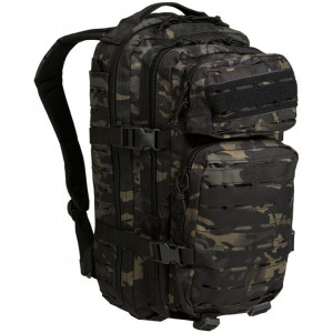 Mochila MILTEC US ASSAULT SM 20 Litros Laser Cut MultiCam Black