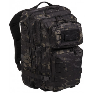 Mochila MILTEC US ASSAULT LG 36 Litros Laser Cut MultiCam Black