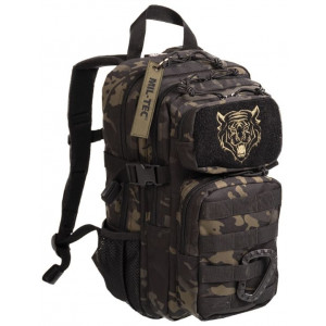 Mochila MILTEC US ASSAULT Kids 14 Litros Multicam Black