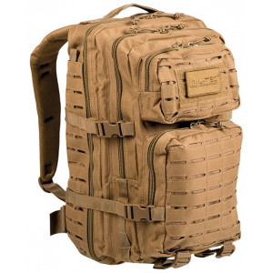 Mochila MILTEC US ASSAULT LG 36 Litros Laser Cut coyote