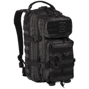 Mochila MILTEC US Assault Tactical Black 20 Litros