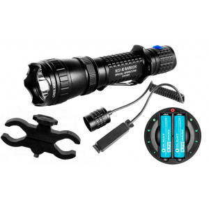 Kit de Caza Linterna OLIGHT M20SX-UT Recargable