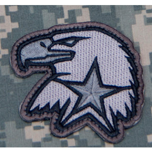 Parche textil Eagle Star