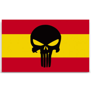 Pegatina Punisher España