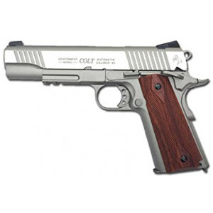 Pistola KWC Colt1911 Plata CO2 6mm