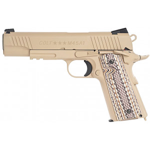 Pistola KWC Colt1911 Tan CO2 6mm