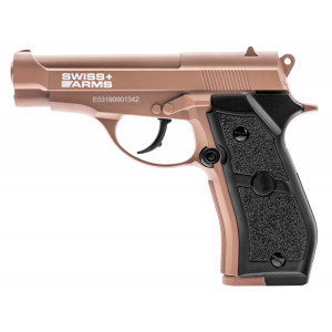 Pistola SWISS ARMS P84 Tan CO2 4.5mm