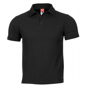Polo PENTAGON Aniketos negro