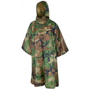 Poncho Impermeable HELIKON-TEX U.S. MODEL Woodland