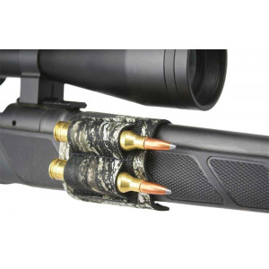 Portacartuchos lateral de neopreno BEARTOOTH Mossy Oak para rifle