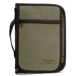Porta documentos SNUGPAK Grab A5 verde