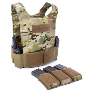 Chaleco portaplacas WARRIOR ASSAULT Covert MK1 MultiCam