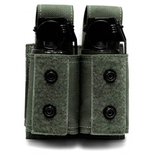 Pouch porta granadas doble 40mm WARRIOR ASSAULT verde