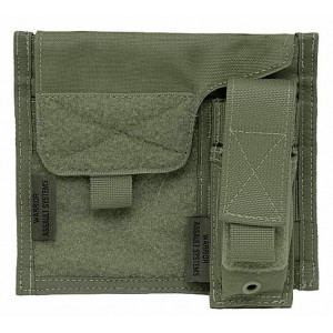 Pouch WARRIOR ASSAULT Admin Panel verde