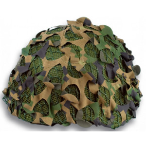 Red de camuflaje CAMOSYSTEMS para casco