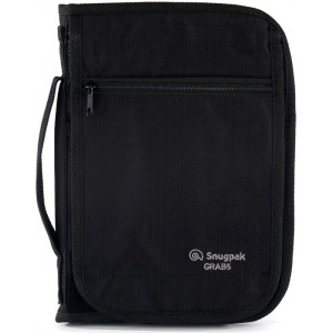Porta documentos SNUGPAK Grab A5 negro