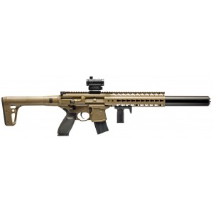 Subfusil SIG SAUER MCX ASP FDE CO2 4.5mm + Red Dot