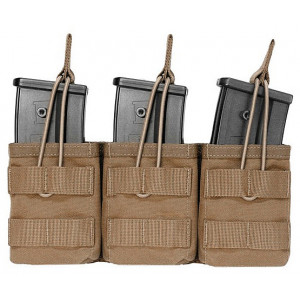 Triple funda portacargador G36 coyote WARRIOR ASSAULT