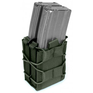 Doble funda portacargador de rifle WARRIOR ASSAULT verde