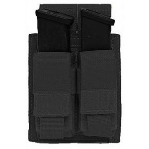Funda portacargador doble de pistola WARRIOR ASSAULT negra