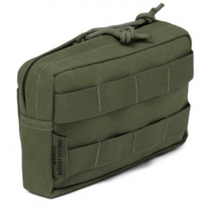 Bolsillo WARRIOR ASSAULT Horizontal Utility Pouch Verde